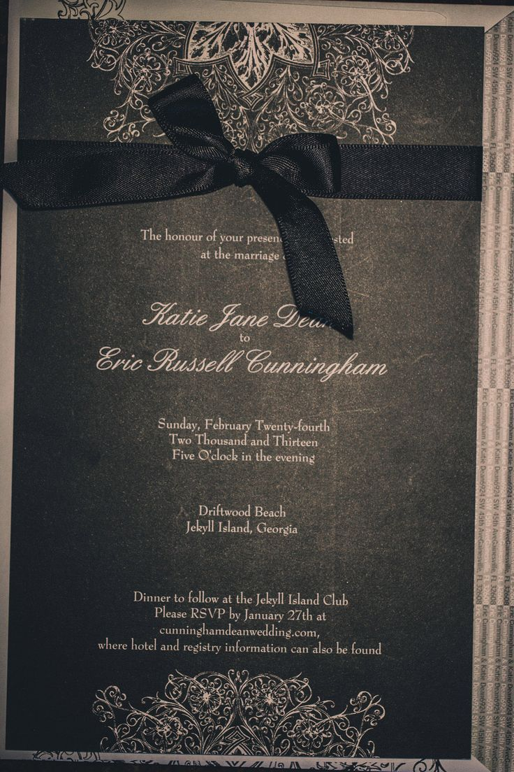 124 best Wedding Invitation & Written Things images on Pinterest ...