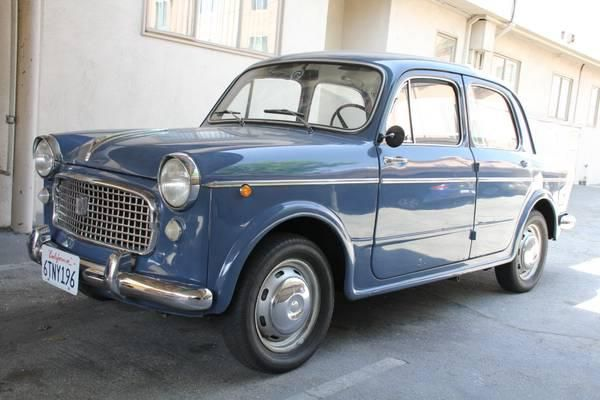 My Classic Car For Sale | 1960 #Fiat 110 #italiandesign 103H, $9,000.