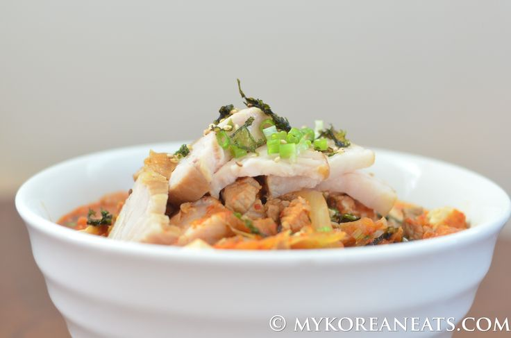 Kimchi+Jjigae+돼지고기+김치찌개+(Spicy+Kimchi+Stew+w+Pork)