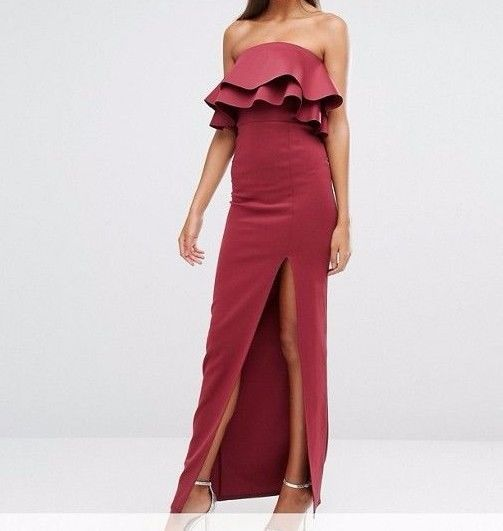 Long sleeved maxi dress ebay