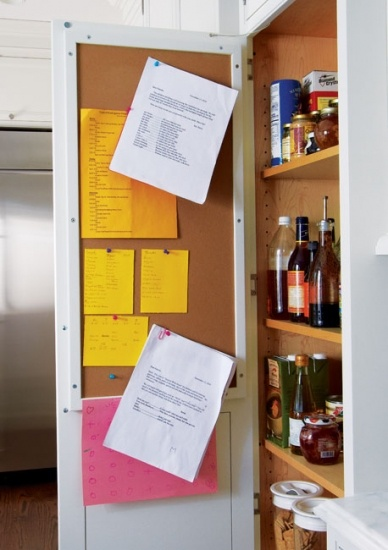 Kitchen - Bulletin Board