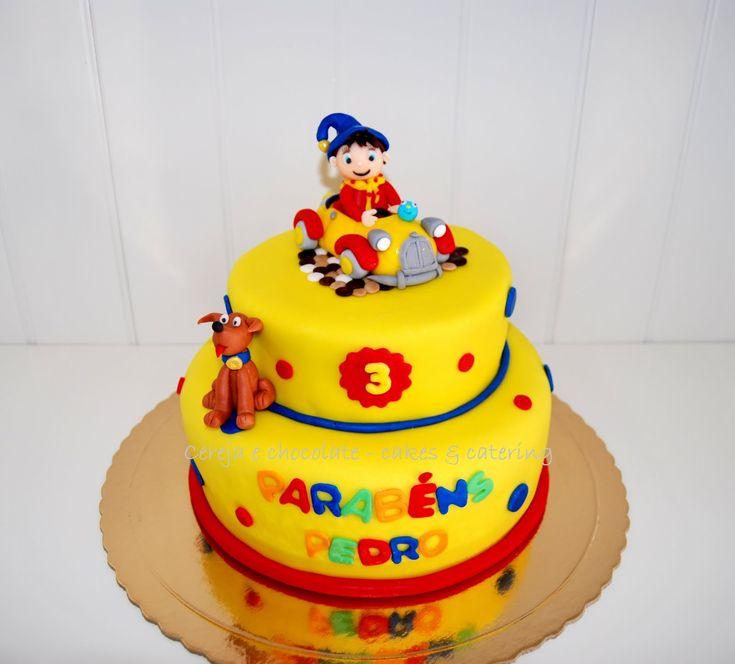 Noddy Birthday Cake - http://cakesmania.net/noddy-birthday-cake/