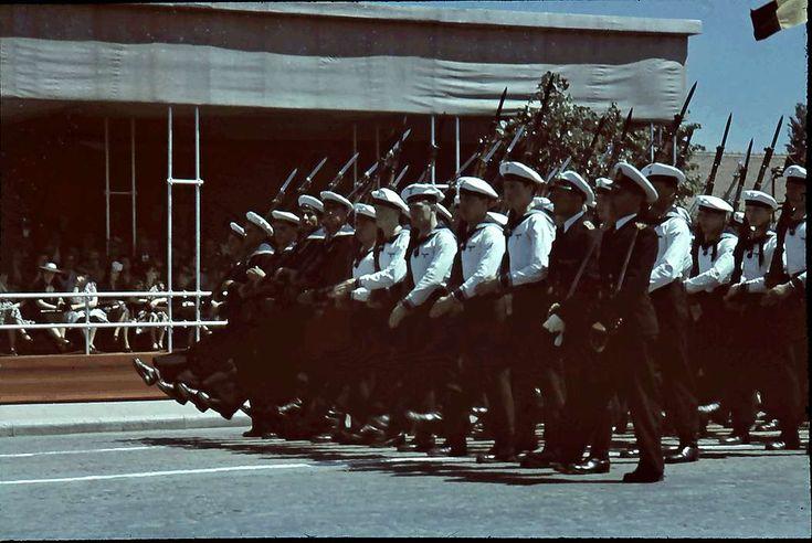 Vorbeimarsch der Infanterie von allen Verbänden - 10 Mai 1943
