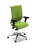 Cool office chairs with great ergonomic appointments. ~