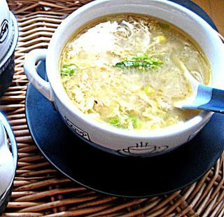 Cupcakeluv: Kinesisk Kylling Majs Suppe/ Chinese Chicken Corn Soup