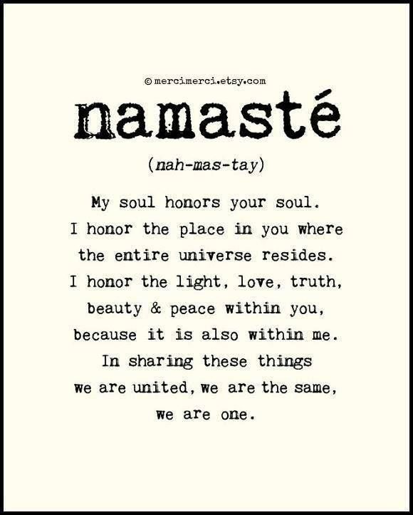 Namaste This Is The Tattoo On My Ankle :)