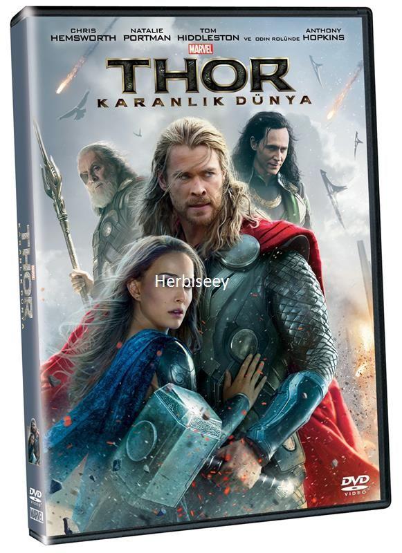 DVD THOR KARANLIK DÜNYA - THE DARK WORD 12,99 TL ( KDV Dahil )
