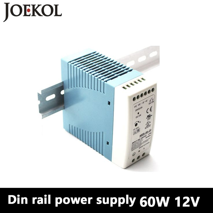 MDR-60 Din Rail Power Supply 60W 12V 5A,Switching Power Supply AC 110v/220v Transformer To DC 12v,ac dc converter
