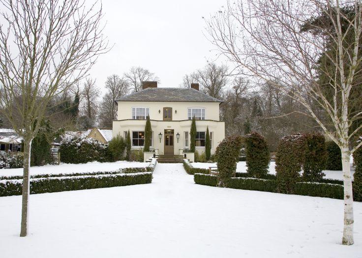 Farmhouse in the Snow