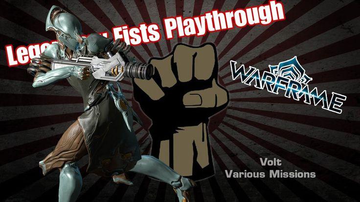 Warframe PS4 Volt Various Noob Missions