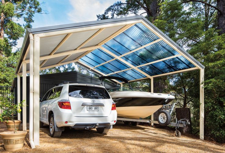 Outback® Gable Stratco Patio, Pergola pictures