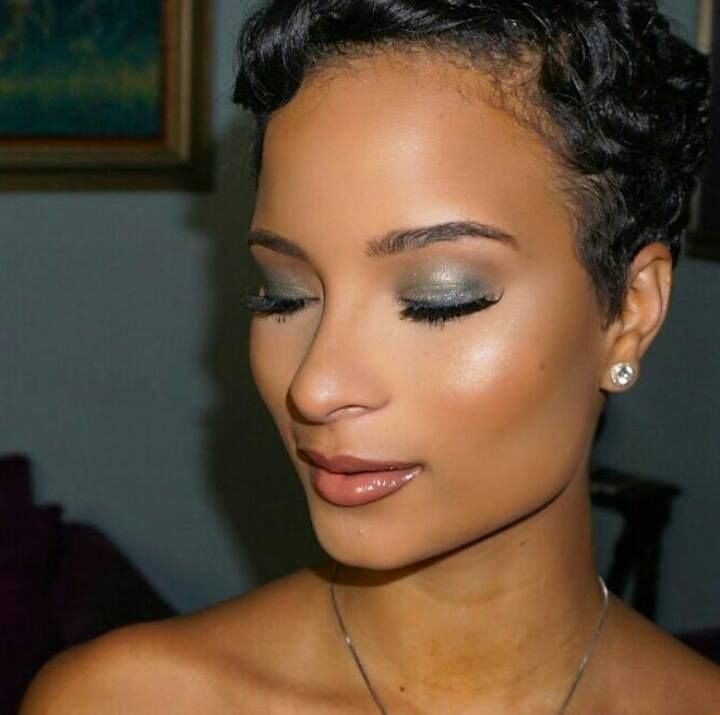 Love this makeup look on Kaci Fennell