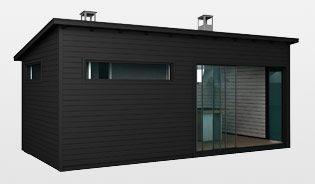 Modernit piharakennukset | Huone1