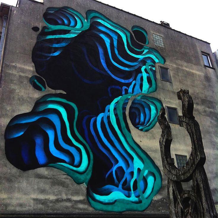 Street art by German Street artist '1010'