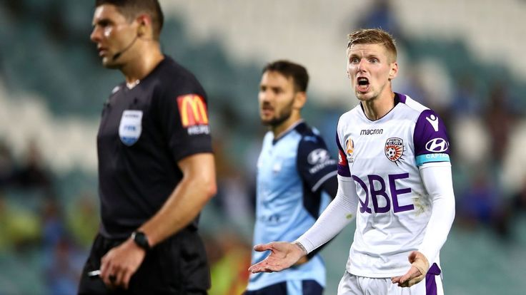 Perth Glory ready to bounce back from Sydney FC thrashing - Andy Keogh