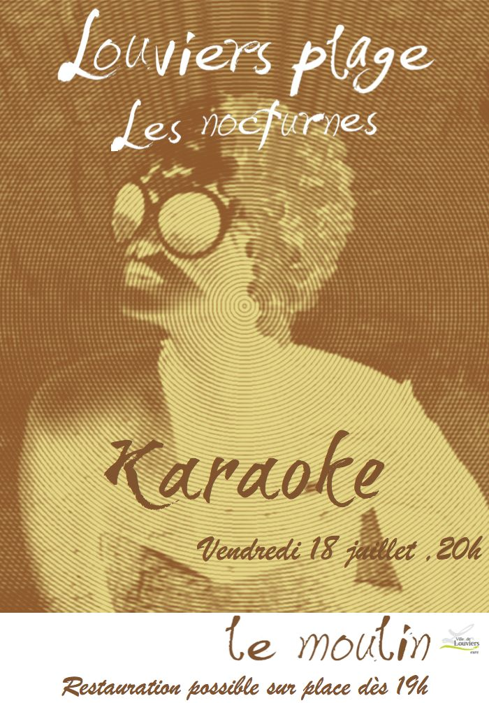 Prenez le micro sur les Nocturnes de #Louviers Plage