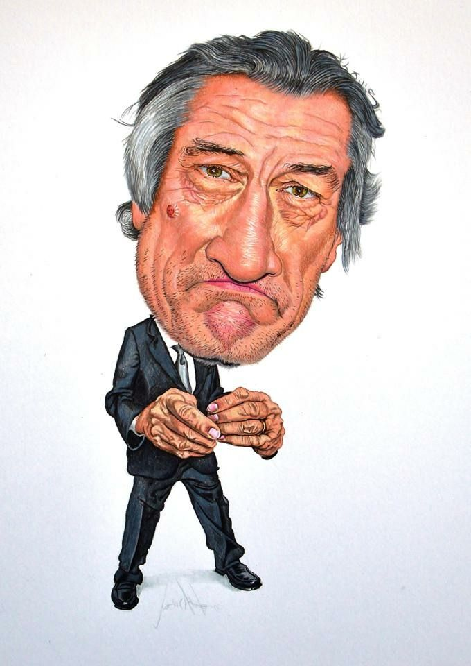 Robert De Niro Caricatura