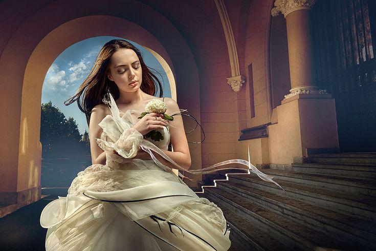 Make up si coafura mire si mireasa Seminar Wedding Photo by Sergey Ivanov. Beauty creators of Donna Carina Iasi