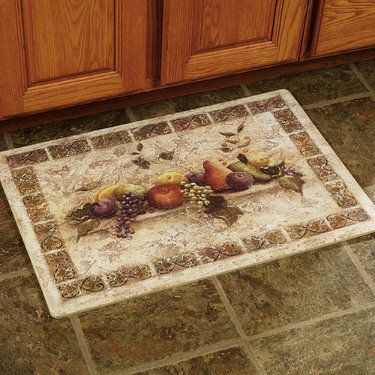 Classic Fruit Kitchen Comfort Mat