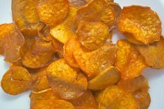 Simple Fried Sweet Potato Chips: Sweet Potato Chips