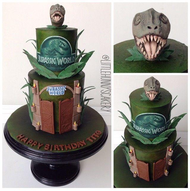 Jurassic World cake CAKES by Little Hunnys Cakery ...