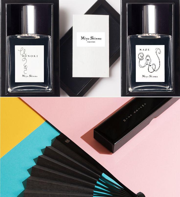 """2 aus der Kollektion, Miya Shinma Parfums!  Hinoki (Japanische Edelhölzer) """"Majestätsich unter einer zarten Rinde.""""  Kaze (Wind) """"Leicht wie der Wind. Subtil und kultiviert"""" #parfum #parfüm #duft #düfte"""