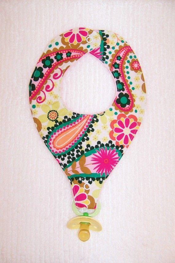 pacifier bib pattern free - Bing images | couture bébé ...