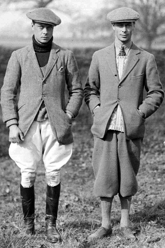 kingedwardviii:  Edward VIII and George VI.