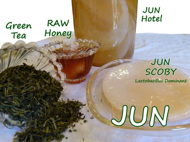 Jun Culture - Learn the difference between the JUN scoby and the Kombucha scoby! Wow, I never knew that - very cool!