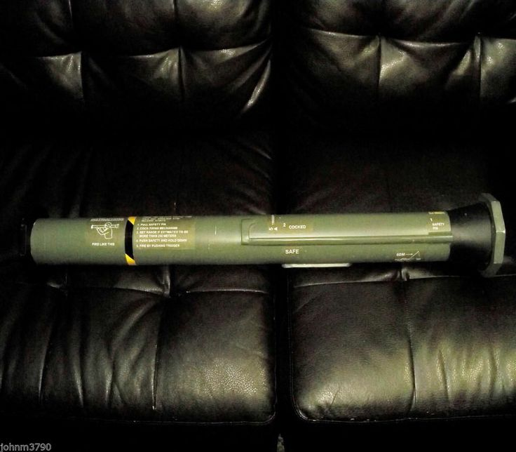AT4 / M136 PROP REPLICA ROCKET LAUNCHER AIRSOFT PROJECT AS