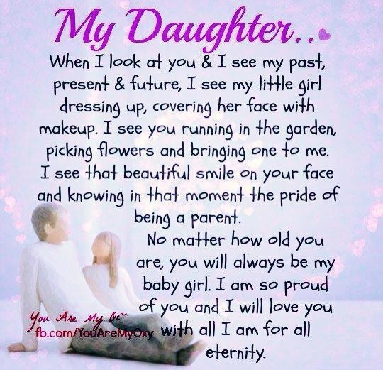 My daughter | parenting | Mother daughter quotes, Daughter ...