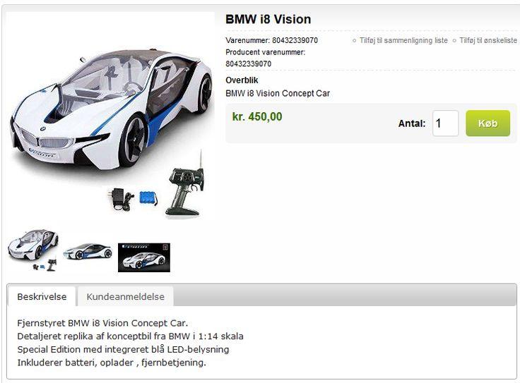 BMW Racer - fjernstyret bil