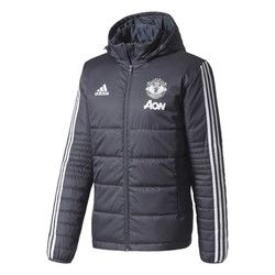 Manchester United Training Winter Jacket - Dark Grey