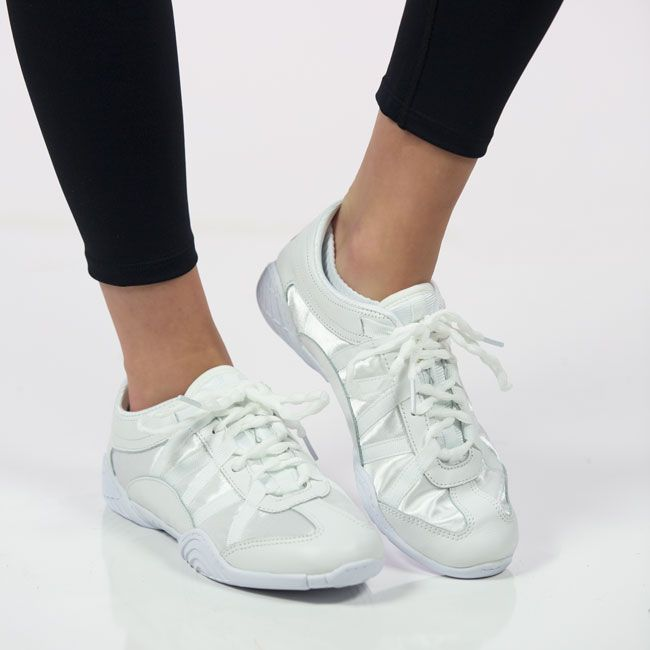 Practice your tumbling with #girls #cheerleading #shoes from Nfinity's Sporting Goods. Buy the best #Girls_Cheer_Shoes only at nfinity.com