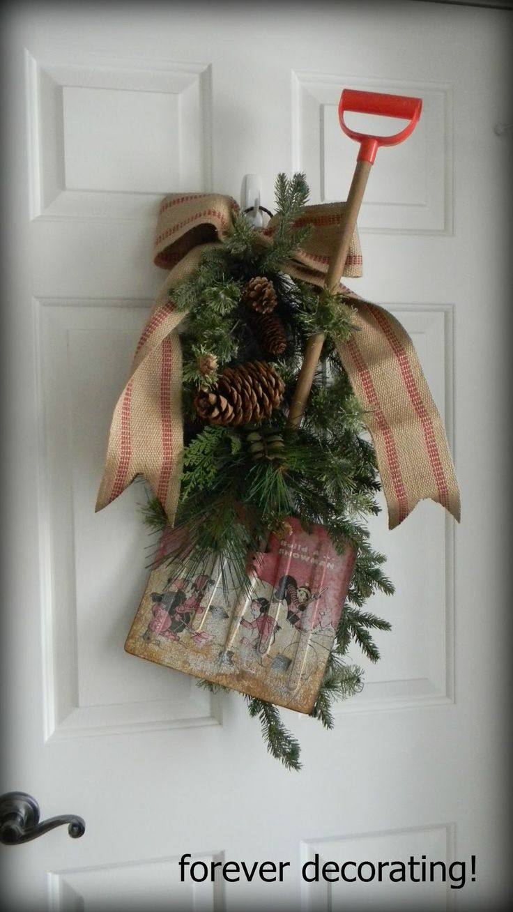 SHOVEL DECOR | ... decor constantly changes, is to get out some of my decor that just