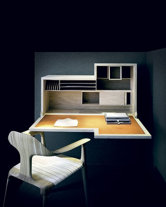 15 Practical and space-saving wall tables