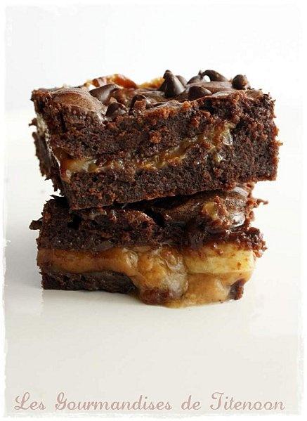 Le Brownie au Caramel Beurre Salé