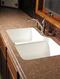 This is one of our popular sink models for laminate tops.
