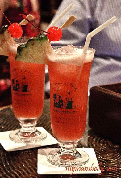 singapore sling, singapore sling recipe, raffles singapore sling, classic cocktails