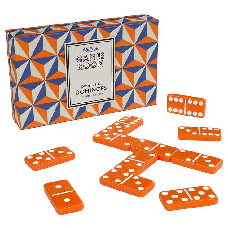 Ridley's Dominoes design by Wild & Wolf Dominoes set