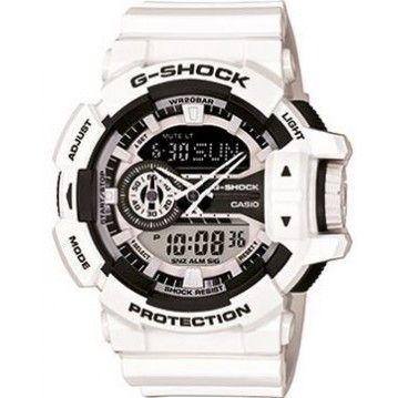 Montre Casio G-Shock Blanc Oversize GA-400-7AER