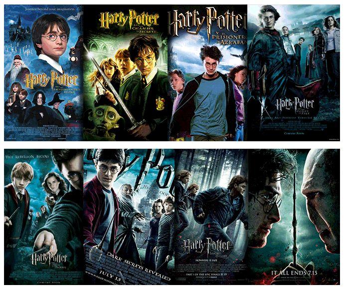 Luego De 7 Libros 8 Peliculas Harry Potter Harry Potter Movies Books