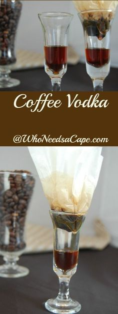 Coffee Vodka a fabulous infused vodka for coffee lovers!