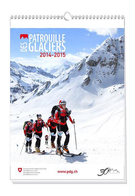 """Calendar """"Patrouille des Glaciers 2014-2015"""""""