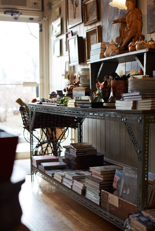 Anthology Rossman shop shelf