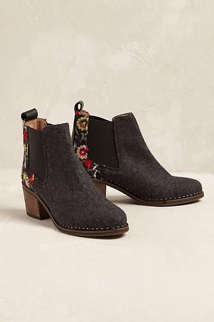 Chiara Embroidered Boots | Anthropologie