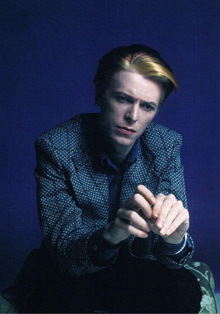 Portrait of David Bowie, 1970's