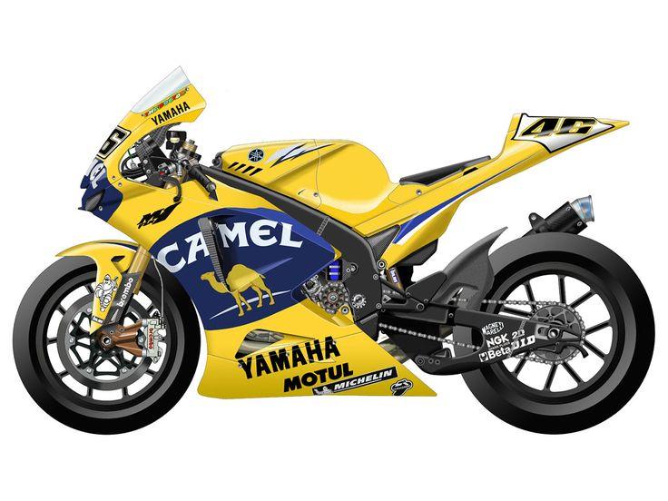 Yamaha YZR-M1 2006 - Camel