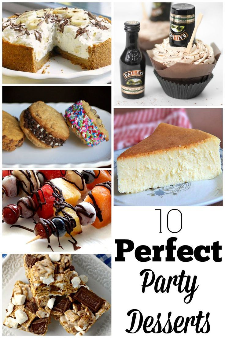10 Perfect Party Desserts