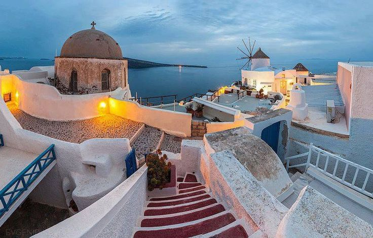A Great evening in Santorini!